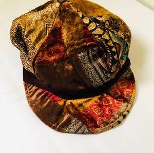 Vintage Patchwork Hat
